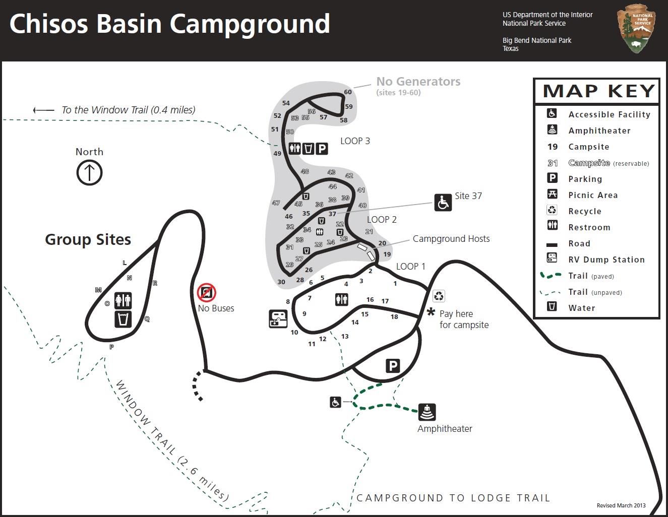 Basin Campground Info