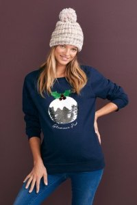 Christmas Pudding Sweater
