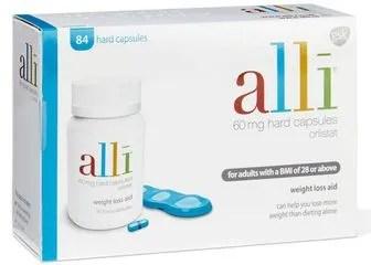 Alli Weight Loss Medication (Orlistat)