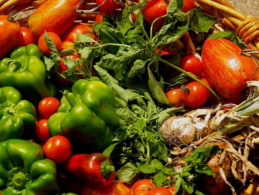 verduras locales