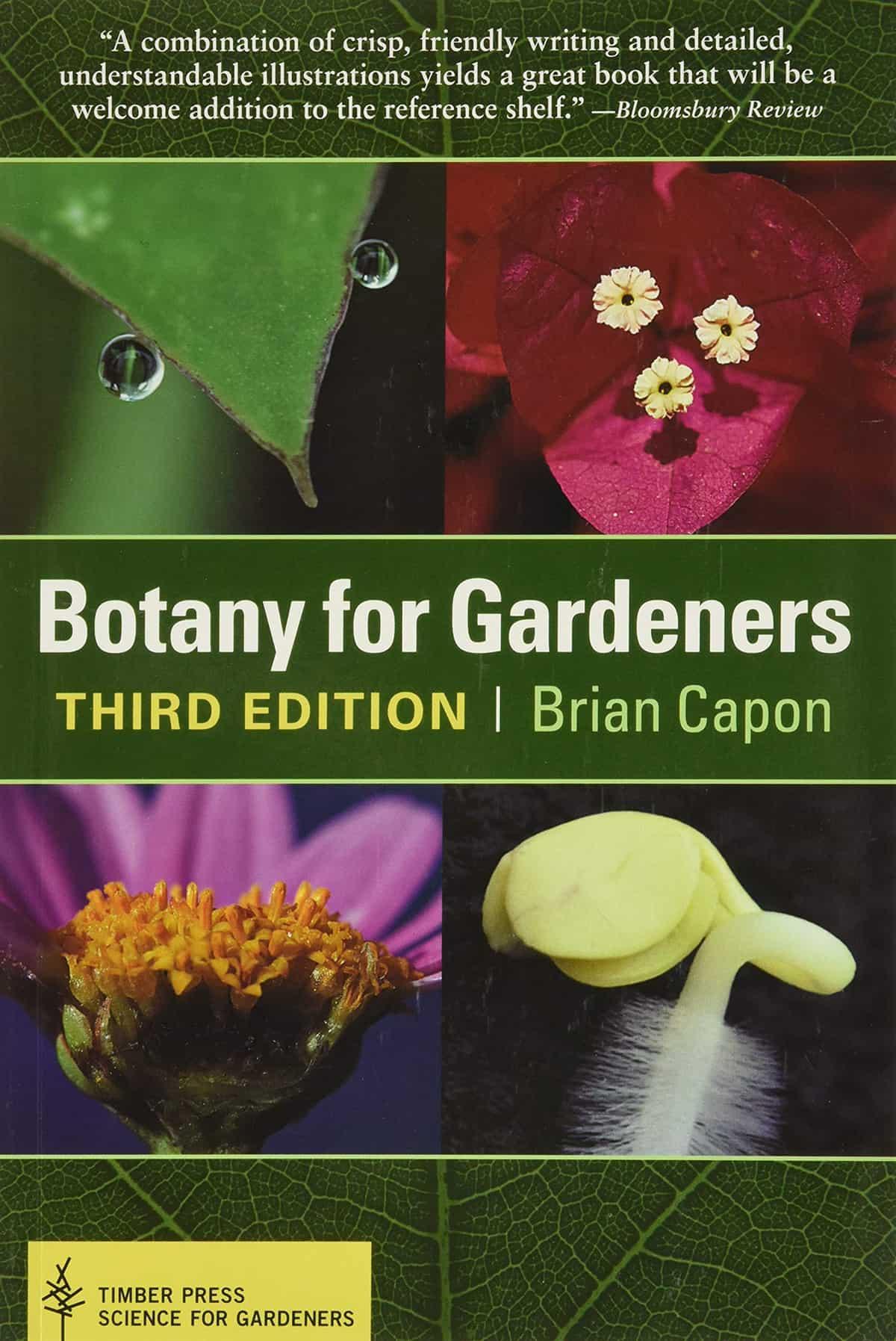 libro de botánica para jardineros brian capon