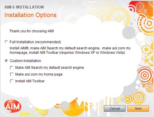 aim-installation-options