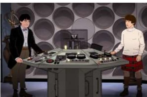 The Second Doctor and Jamie