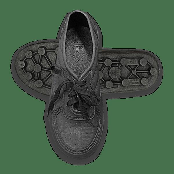 รองเท้าผูกเชือก(พื้นปุ่ม)UKIรุ่น9000