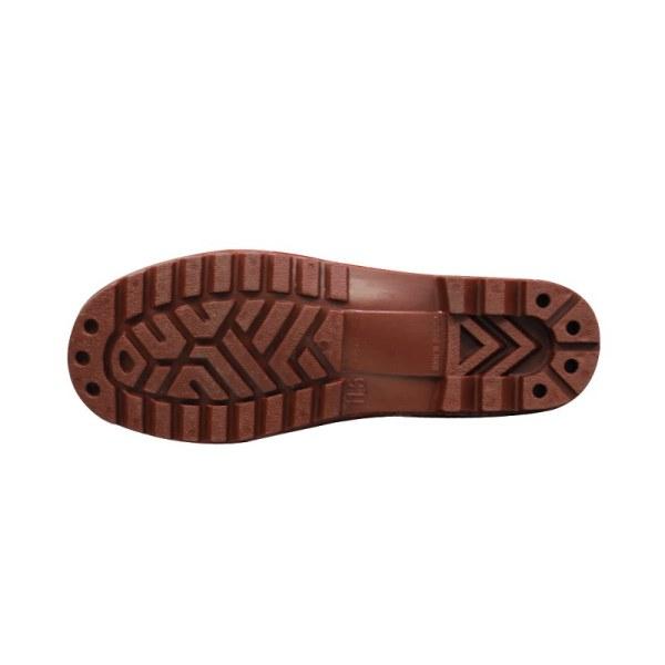 รองเท้าบู๊ทสั้น A5550 สีน้ำตาล2