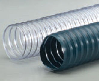 r 2 c clear pvc med wt wire reinforced exhaust hose 10