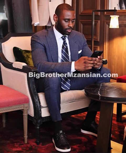 Blue Mbombo's New Boyfriend