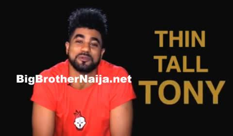 ThinTallTony Offiong Edet Anthony's Biography On Big Brother Naija Season 2