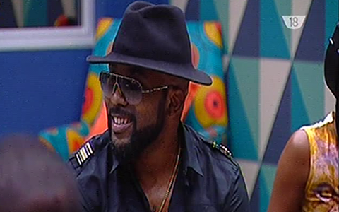 Day 24, Banky W Visits The Big Brother Naija 2017 House