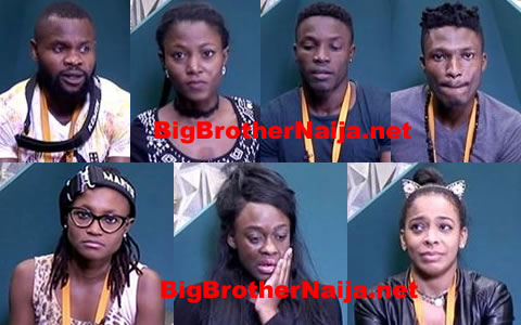 Big Brother Naija 2017 Week 6, 7 Housemates Up For Possible Eviction