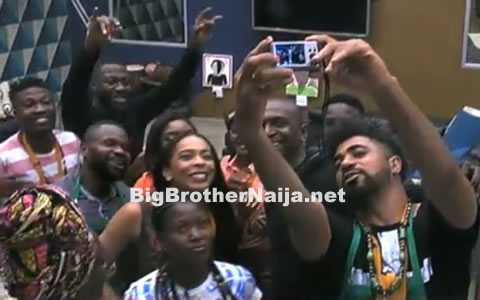 Big Brother Africa Host IK Visits The Big Brother Naija 2017 Housemates
