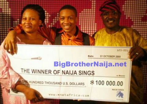 Jon Ogah Won Naija Sings