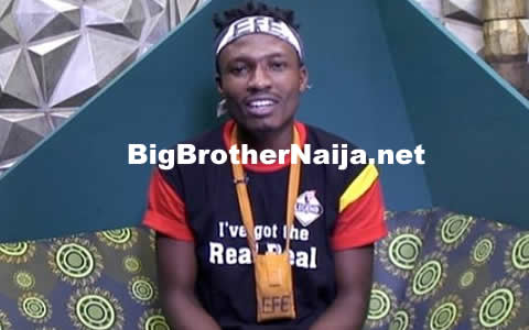 Efe Wins Head Of House Title For Big Brother Naija 2017 Week 9