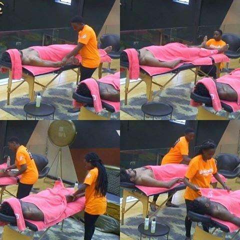 ThinTallTony And Efe Receive Massages