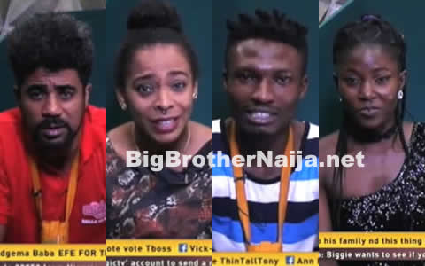 Big Brother Naija 2017 Day 51 Diary Sessions