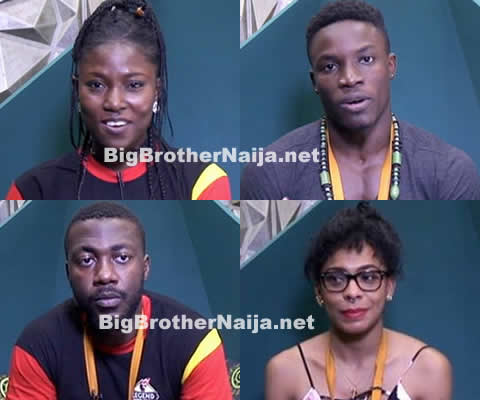 Big Brother Naija 2017 Week 9 Nominations, 4 Housemates Up For Possible Eviction