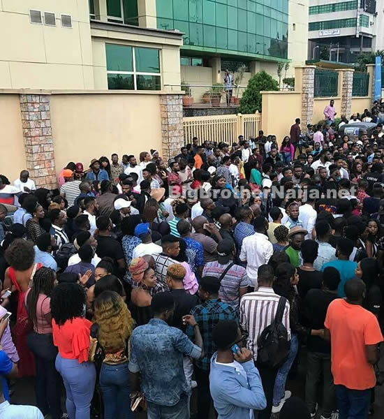 Thousands Turn Up For Big Brother Naija 2018 Auditions