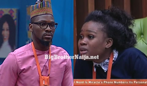 Big Brother Issues Cee-C With A Strike And Warns Tobi Bakre