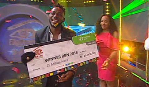 Grand Finale Miracle Igbokwe Ikechukwu Winner Of Big Brother Naija 2018