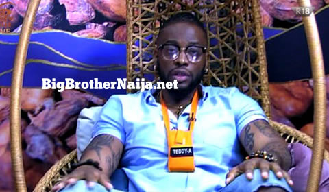 Teddy A Evicted from Big Brother Naija 2018
