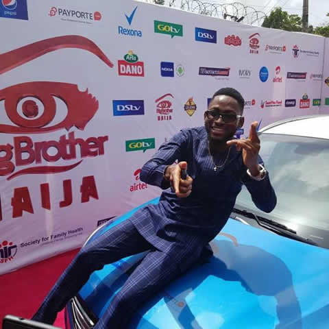 Miracle Ikechukwu Receives Brand New Big Brother Naija 2018 Car Prize