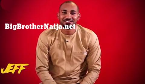 Jeff Big Brother Naija 2019 Housemate