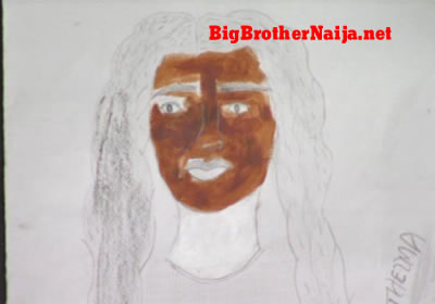 Thelma Portrait Painting Big Brother Naija 2019