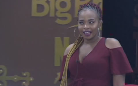 Cindy enters Big Brother Naija 2019 house on Day 32