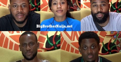 Big Brother Naija 2019 Grand Finalists, Omashola, Frodd, Seyi, Mike, Mercy