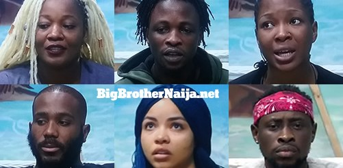 Big Brother Naija 2020 Week 7 Nominated Housemates