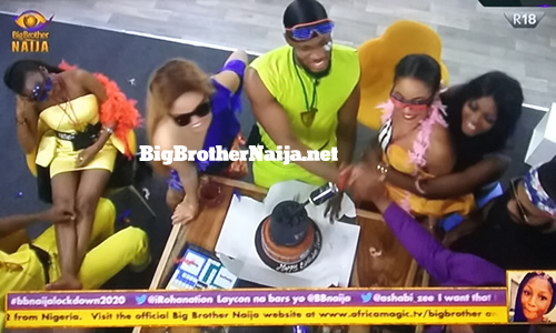 Prince Nelson Enwerem birthday celebrations, Big Brother Naija 2020 day 14