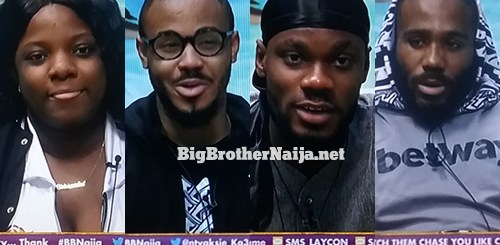 Big Brother Naija 2020 Week 8 Nominated Housemates
