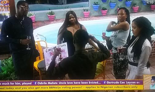 Big Brother Naija 2020 'Season 5' Finalists, Nengi, Vee, Dorathy, Neo and Laycon Celebrating