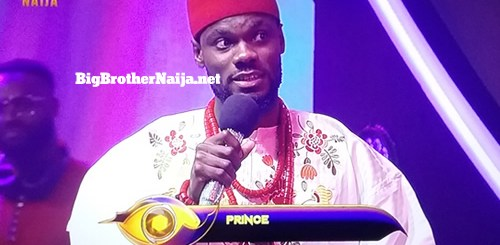 Prince Nelson Enwerem Evicted from Big Brother Naija 2020 on day 56