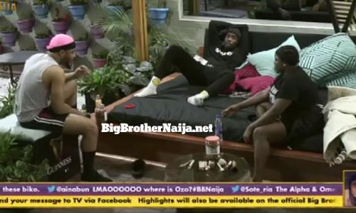 Big Brother Naija Season 5 Nominations: Team Black - Ozo, Dorathy and Neo