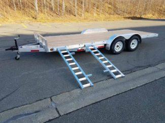 Baughman Products Aluminum 7x18 7K ATV Side Load Image 5