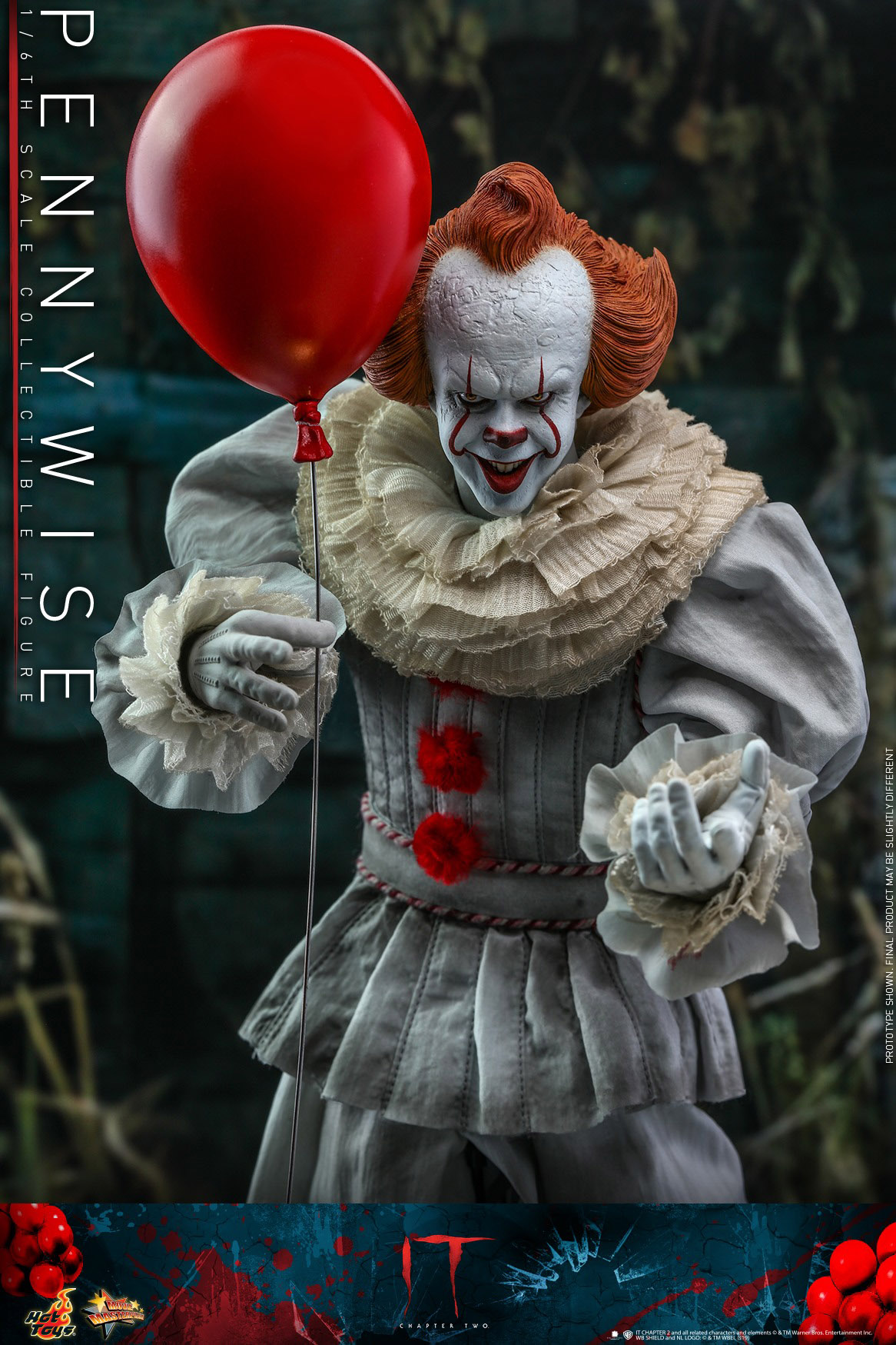 Pennywise IT Chapter 2 One Sixth Scale Figure by Hot Toys