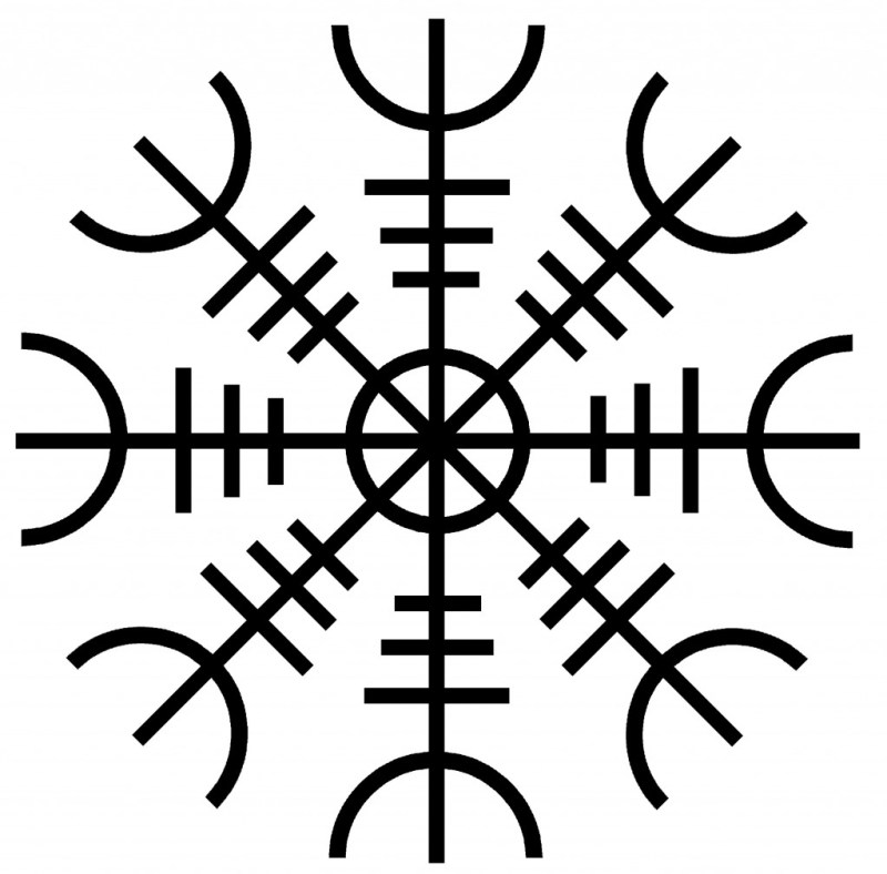 The Helm of Awe -viking symbols and meanings