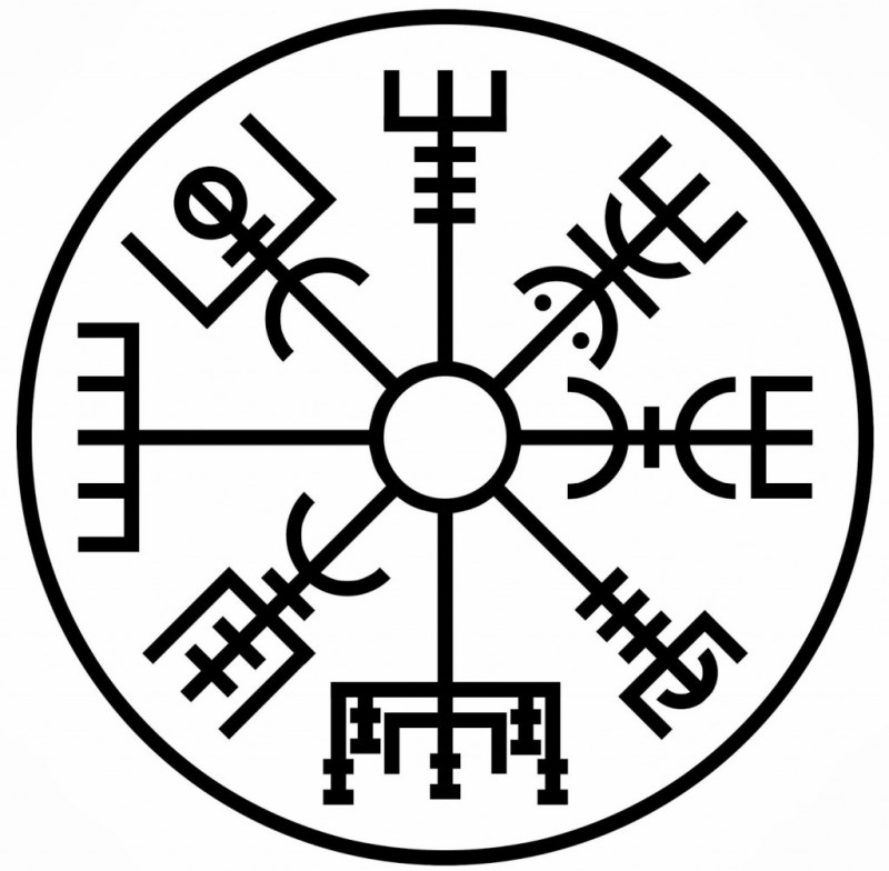 The Vegvisir -viking symbols and meanings