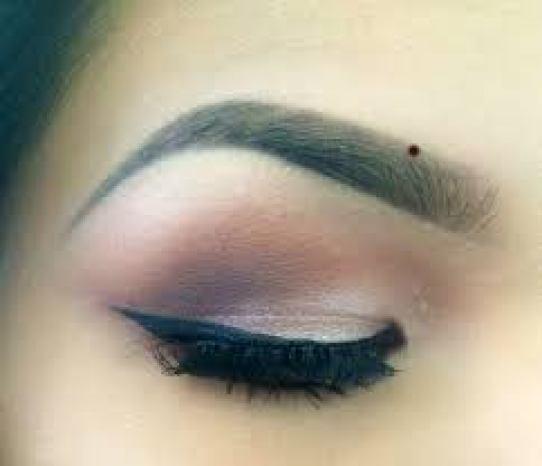 Mole on the Eyebrows