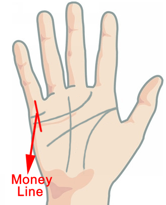 Palmistry Money Line