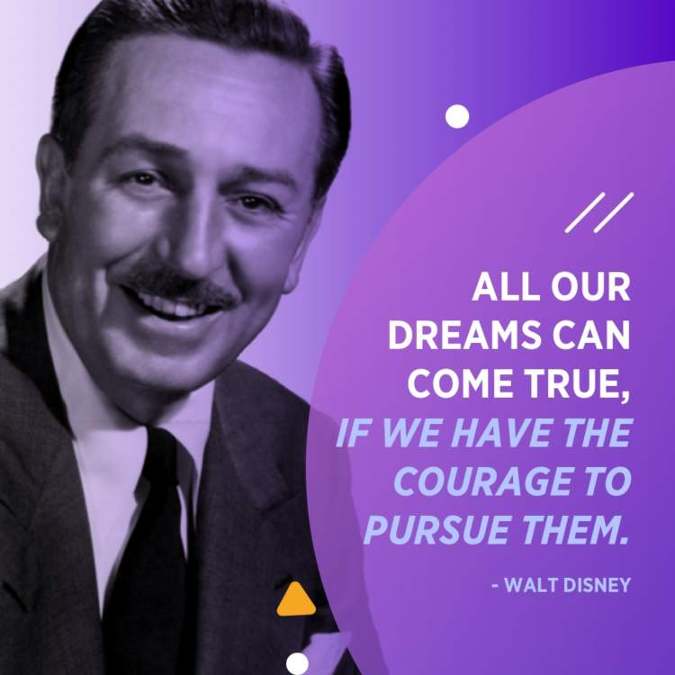 Image of: Funny Walt Disney Dreams Quote Sayingimagescom 30 Entrepreneur Quotes To Motivate And Inspire Your Business In 2019