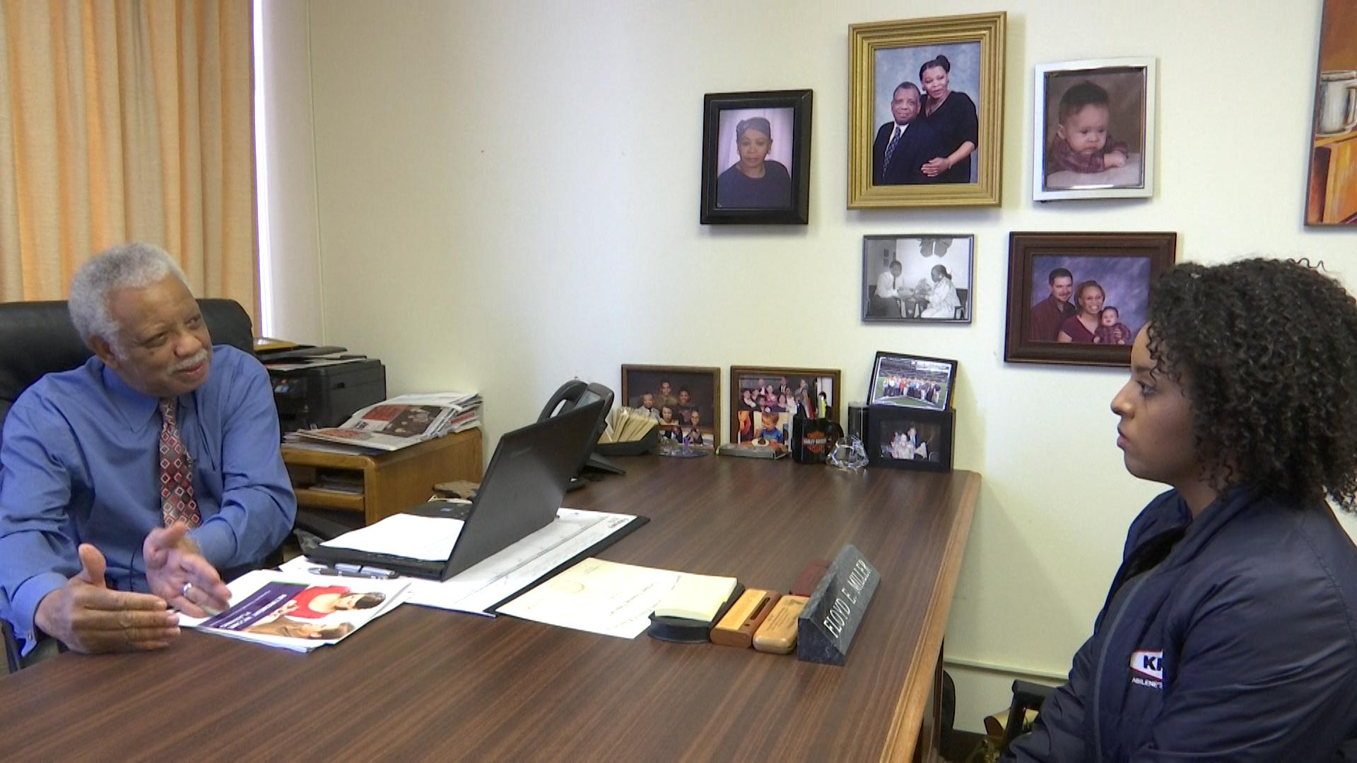 Abilene business owner, Floyd Miller