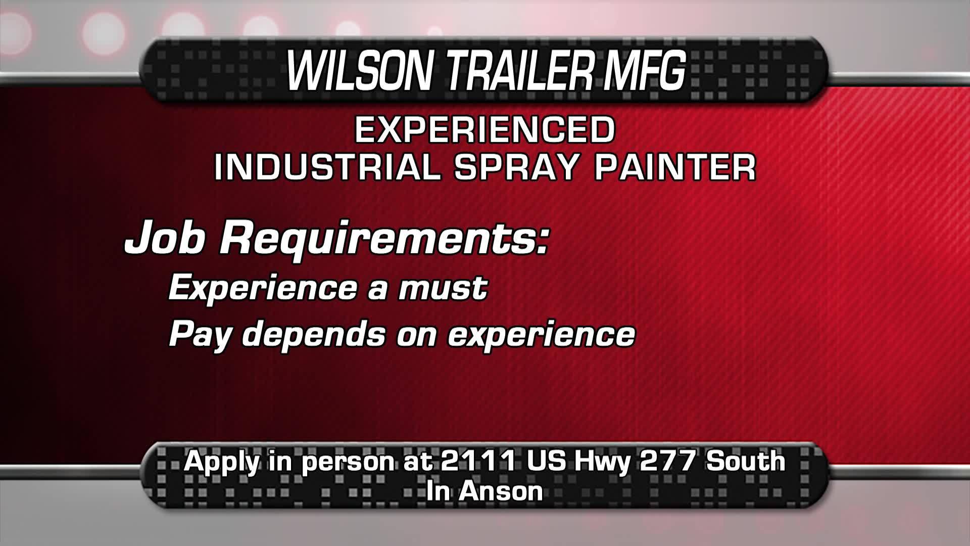 Industrial Spray Painter Needed