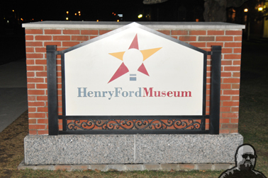 Henry Ford Museum sign