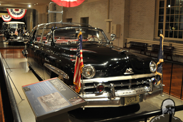 Dwight D. Eisenhower's 1950 Lincoln Bubbletop