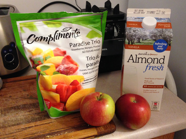 apple smoothie ingredients