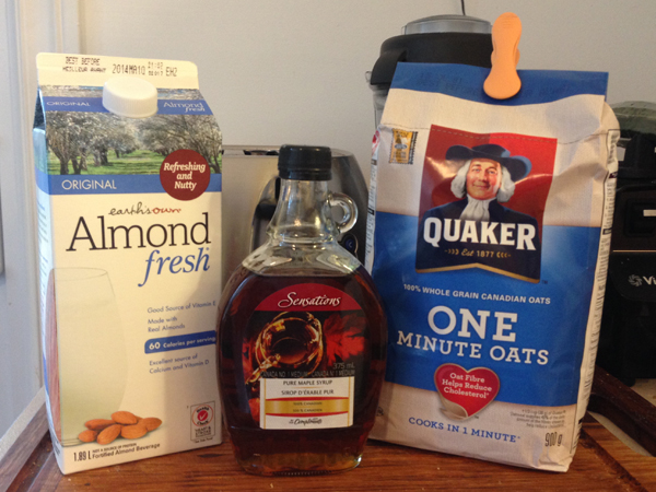 Start your day off right oats