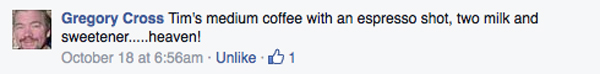 cannot do without my tim hortons greg cross fb message