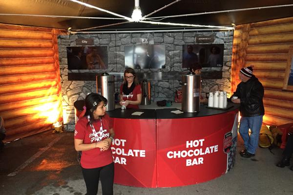 16 samsung galaxy warming lodge hot chocolate